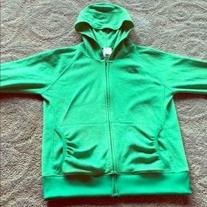 Green North Face Jacket